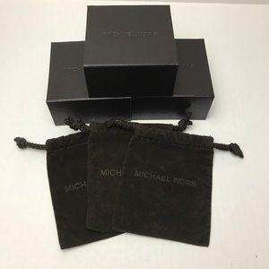 MICHAEL KORS Brown Box & Dust Bag (3-pack)